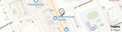 Новострой на карте Берёзовского
