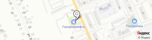 АЗС Газпромнефть-Урал на карте Берёзовского