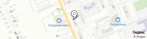 Центр предоставления субсидий и компенсаций на карте Берёзовского
