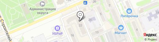 Робек на карте Берёзовского