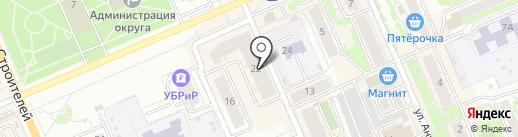 Сантехкомплект на карте Берёзовского