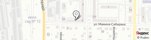Почтовое отделение №2 на карте Берёзовского