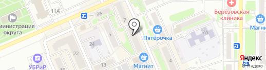 МТС на карте Берёзовского