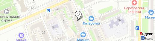Teсhnology Shop на карте Берёзовского