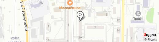 Горсвет на карте Берёзовского