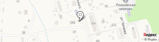 Сельская библиотека на карте Октябрьского