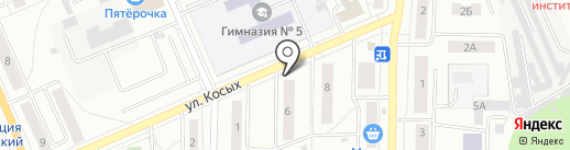 Катэ на карте Берёзовского