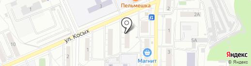 Горка на карте Берёзовского