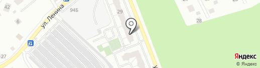 6 Микрорайон на карте Берёзовского