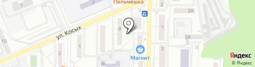 Магазин фруктов и овощей на карте Берёзовского