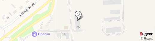 Термо Кинг Стикс на карте Октябрьского