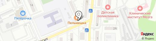 Магазин канцтоваров на карте Берёзовского
