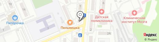 Комфорт на карте Берёзовского