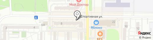 Turon на карте Берёзовского