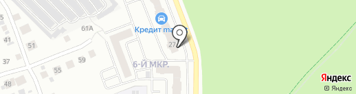 Чемпионика на карте Берёзовского
