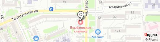 Агат-Мед на карте Берёзовского