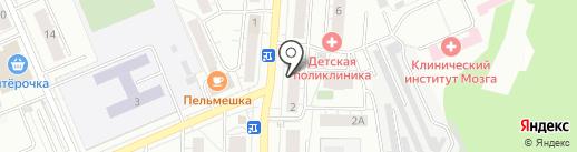 BROZEX-маркет на карте Берёзовского