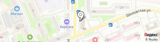 Табачный №1 на карте Берёзовского
