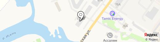 100 Печей на карте Арамиля