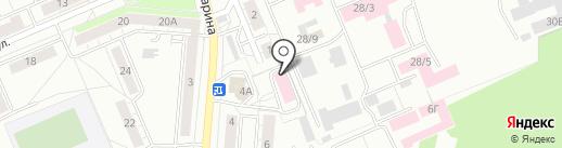 Роспотребнадзор на карте Берёзовского