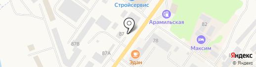 Autoboom на карте Арамиля