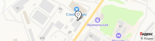 МотоМастер на карте Арамиля