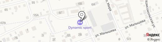 Продуктовый магазин на карте Арамиля