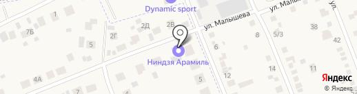 Ниндзя на карте Патруш