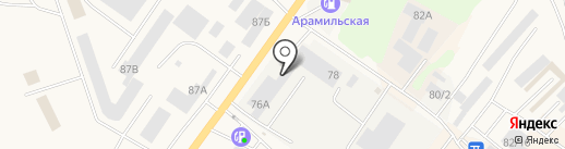 Автотехсервис Плюс на карте Арамиля