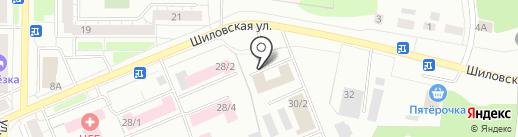Алес на карте Берёзовского