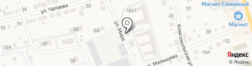 МАН на карте Арамиля