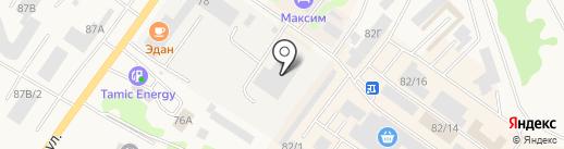 Арамильский хлебозавод на карте Арамиля