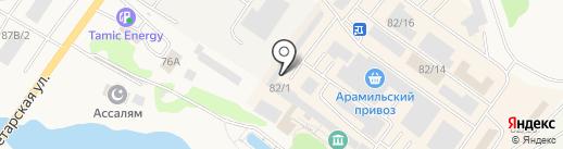 ДАЧА на карте Арамиля