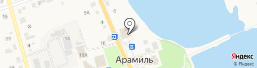 Автоаудиомастер на карте Арамиля