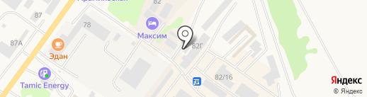 АМК Idea Market на карте Арамиля