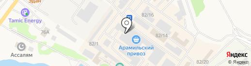 Магазин окон на карте Арамиля