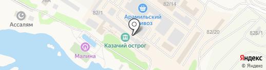 Магазин мебели на карте Арамиля