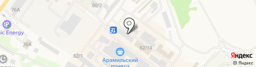 Теплосфера-Урал на карте Арамиля