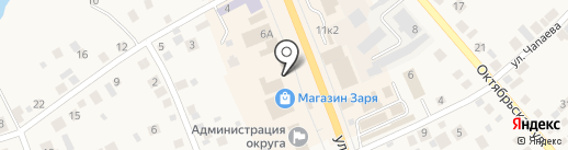 Магазин тканей и пряжи на карте Арамиля