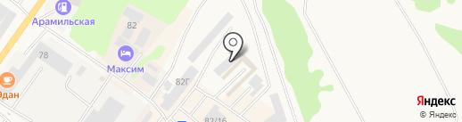 БартСтрой на карте Арамиля
