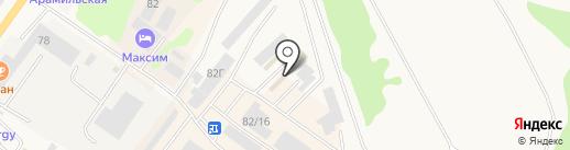 СКИФ на карте Арамиля