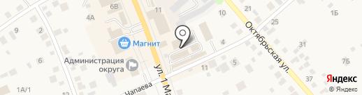Магазин по продаже лакокрасочных материалов на карте Арамиля