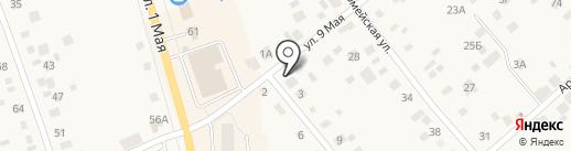 Транзит Урал на карте Арамиля