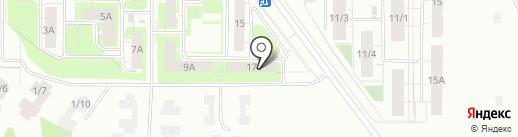 Уют-Сити на карте Берёзовского