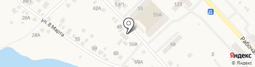 Магазин автозапчастей на карте Арамиля