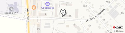 Совёнок на карте Арамиля