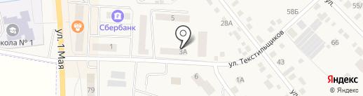 Летай Fitness & SPA на карте Арамиля