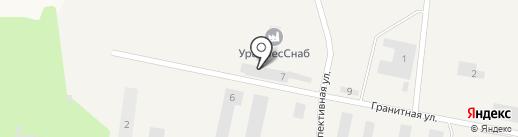 Бэст на карте Октябрьского