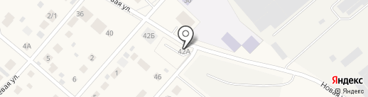 Автостоянка на карте Арамиля