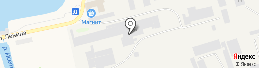 Астра на карте Арамиля